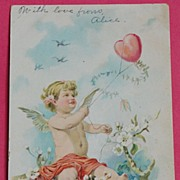 1907 Cupid Valentine Card