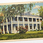 SALE The Cottage Baton Rouge Louisiana Postcard