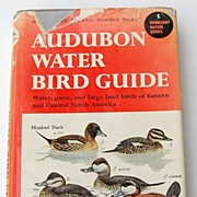 SALE PENDING 1951 Audubon Water Bird Guide By Richard H. Pough
