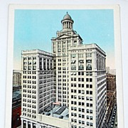 SALE Vintage Postcard Hibernia Bank Building New Orleans