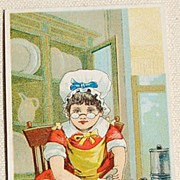 Victorian Ivorine Cleanser Trade Card