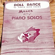 "1926 Vintage Sheet Music Miller Series ""Doll Dance"" By Nacio Herb Brown"