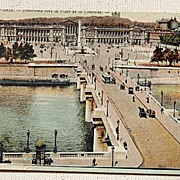 SALE World War 1 French Post Card Paris Soldiers Mail