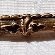 Victorian Gold Filled Beauty Baby Bar Pin