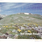 1988 Trail Ridge Road Rocky Mountain National Park Colorado