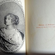 SALE PENDING Secret Memoirs Of Madame La Marquise de Montespan Volumes I & II
