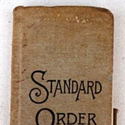 REDUCED 1949 Standard Order Book