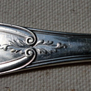 Victorian Reed & Barton Silverplate Master Butter Knife