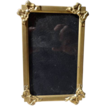 Vintage  ARCO Gold Gilt Ribbon Bow Picture Frame