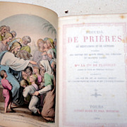 SALE PENDING 1880 French Prayer Book