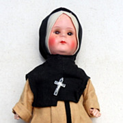 Vintage 12&quot; Nun Doll