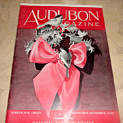 SALE PENDING 1943 Audubon Magazine Published By The National Audubon Society