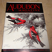 SALE PENDING 1941 Audubon Magazine Published By The National Audubon Society