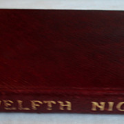 1911 The Temple Shakespeare's Comedy Of Twelfth Night