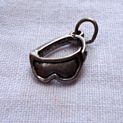 Vintage Sterling SIlver Sun Glasses Charm