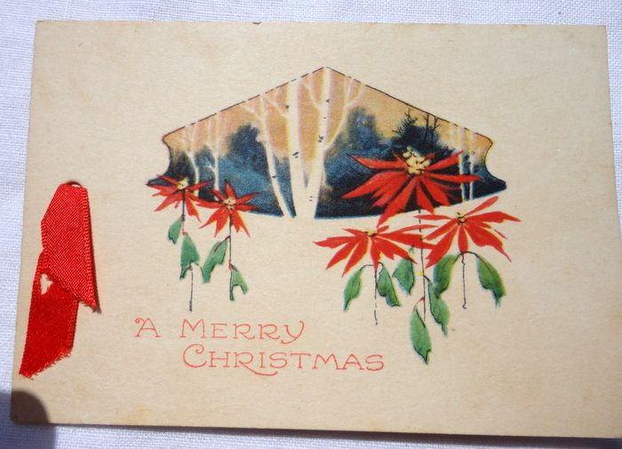 Art Deco Gibson Christmas Card From Bestkeptsecrets On