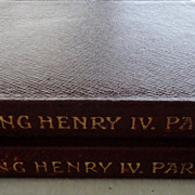 The Temple Shakespeare's King Henry IV Part 1 & 2