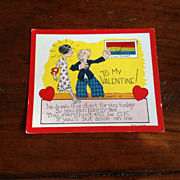 Vintage Valentine Card
