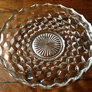 Vintage Fostoria American 12&quot; Tray