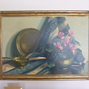 Still Life Oil Painting by Maria Boveri Cantarella