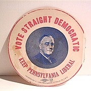 FDR Decal With a Political Message