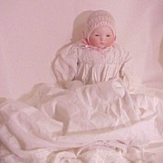 Antique German Porcelain Bisque Doll Armand Marseille Baby Phyllis