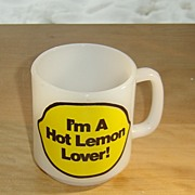 Glasbake:  Hot Lemon Lover Mug