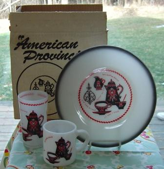 Federal / Hazel Atlas:  American Provincial Place Setting - MIB