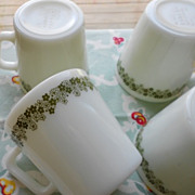 Pyrex: Spring Blossom Mugs - Set of Four