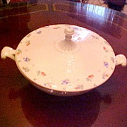 HALL Floral Covered Casserole
