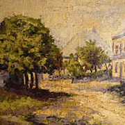 SALE Landscape Signed R. Lebrun about 1900