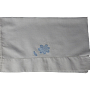 Vintage Applique & Embroidery Child Pillowcase