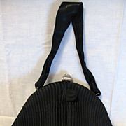 Vintage Signed Josef Designer Black Purse or Handbag