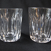Vintage Set of Two Bar Shot Glasses