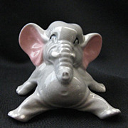 Vintage Signed Hagen-Renaker Elephant Mama