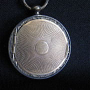 Rare Antique Pendant Locket Case with Daguerreotype Image