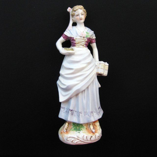 Vintage Porcelain Bar Maid Figurine