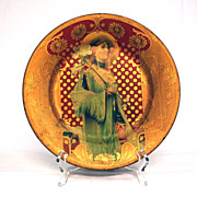 Vienna Tin Lithograph art Plate: Orientalist