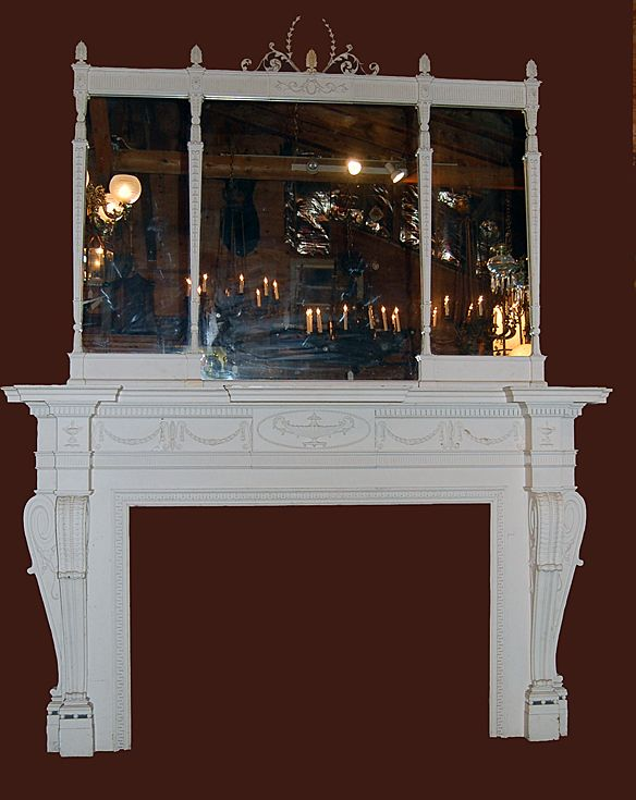 Federal Design Fireplace Mantle Surround