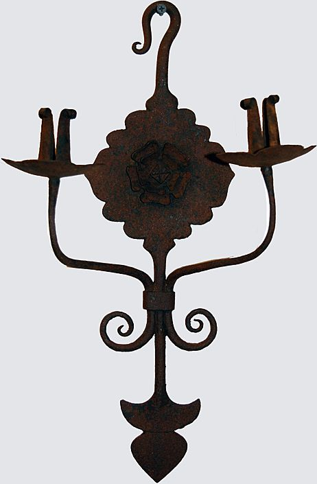 Wall Sconces Primitive Forged Iron