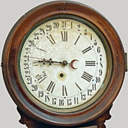 Wall Clock Ingraham Calander Regulator