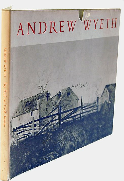Andrew Wyeth 1st Edition Dry Brush & Pencil