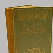 Book Peter Pan London 1912 50 Illustrations