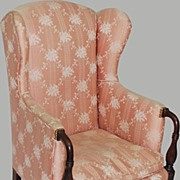 Upholstered Wing Chair Sheraton Period