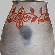 Indian Pottery Corn Beer Pot