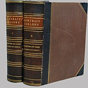 Portrait Gallery Men Women Europe & America 2 Volumes