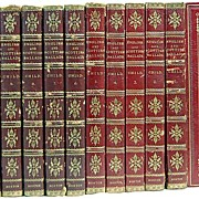 English & Scottish Ballads Leather Bound 10 Vol Ltd Edition