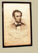 Abraham Lincoln Life Portrait Print