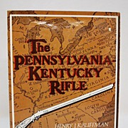 SALE Gun Book The Pennsylvania Kentuckey Rifle FREE SHIPPING