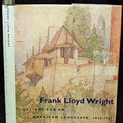 SALE Designs For An American Landscape Frank Lloyd Wright